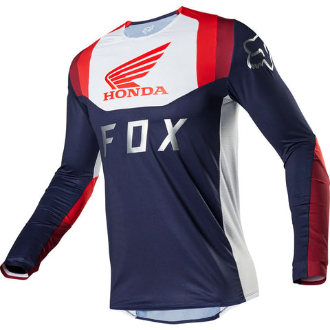FOX FLEXAIR HONDA NAVY/RED JERSEY