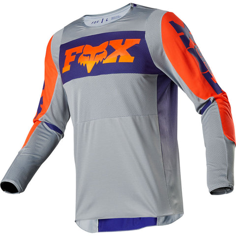 FOX 360 LINC GREY/ORANGE JERSEY