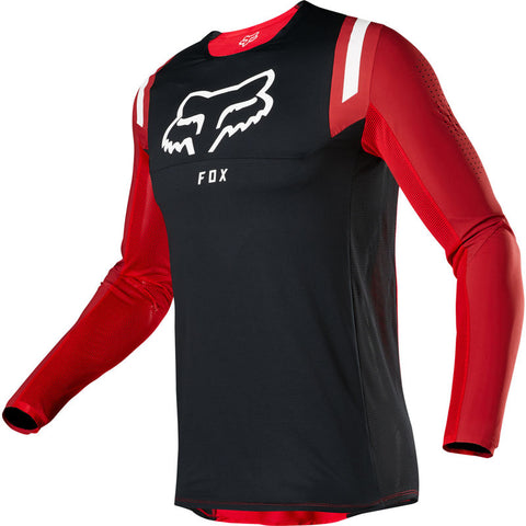FOX FLEXAIR REDR FLAME RED JERSEY