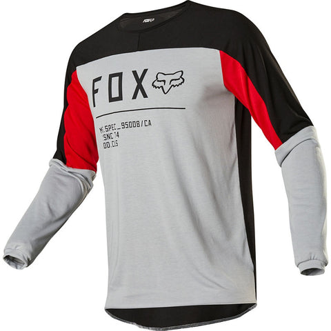 FOX LEGION DRIRELEASE GAIN GREY JERSEY