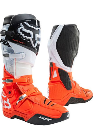 FOX INSTINCT BOOT BLACK/WHITE/ORANGE