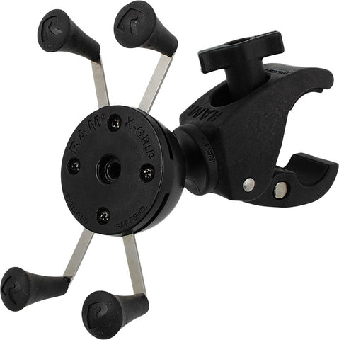 RAM TOUGH-CLAW MOUNT W/UNIVERSAL X-GRIP PHONE CRADLE