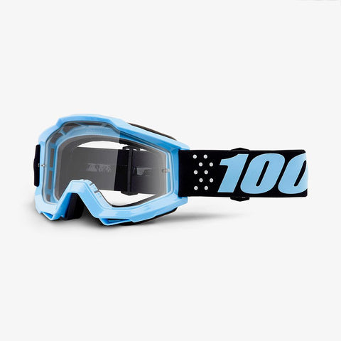 100% THE ACCURI TAICHI/CLEAR LENS GOGGLE