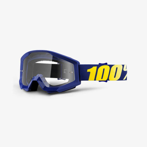 100% THE STRATA HOPE/CLEAR LENS GOGGLE