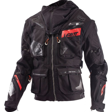 LEATT GPX 5.5 ENDURO BLACK/GREY JACKET