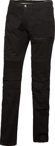 IXS LADIES JEANS C AR STRET BLACK PANTS