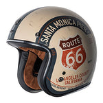 TORC T-50 3/4 PCH GLOSS ROUTE 66 HELMET