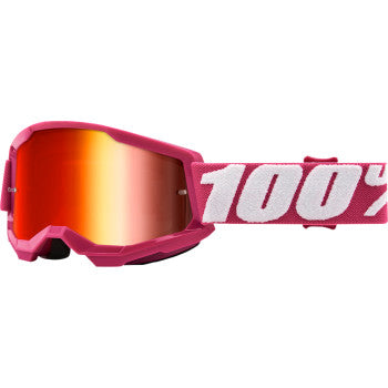 Youth Strata 2 Goggles - Fletcher - Red Mirror