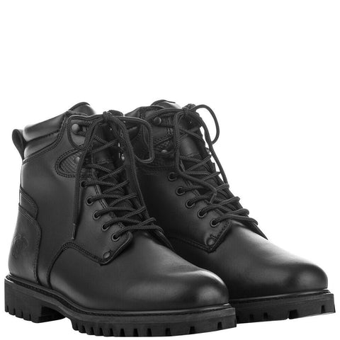 HIGHWAY 21 RPM LACE UP BLACK BOOT