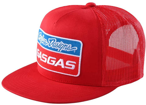 TROY LEE Designs 2021 TLD GASGAS TEAM SNAPBACK HAT RED OSFA