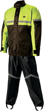 Stormrider Rainsuit - Hi-Viz Yellow/Black - Large