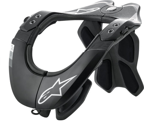 ALPINESTARS BNS TECH-2 NECK SUPPORT BLACK/COOL GREY