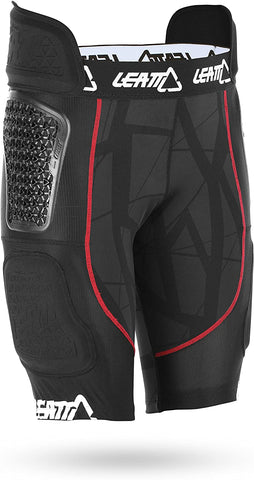 Leatt GPX 5.5 AirFlex Impact Shorts (Black, X-Large)