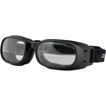 BOBSTER Piston Goggles - Matte Black - Clear