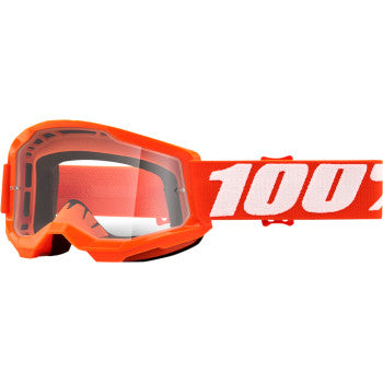 100 % Youth Strata 2 Goggles - Orange - Clear