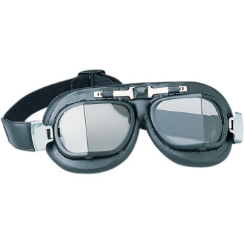 Red Baron Goggles-Black