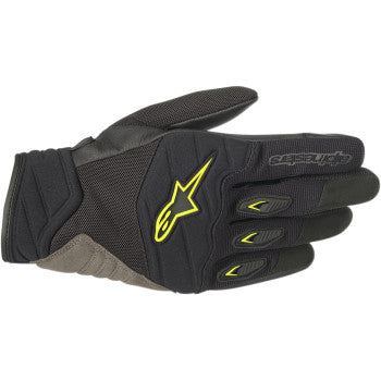Shore Gloves - Black/Yellow