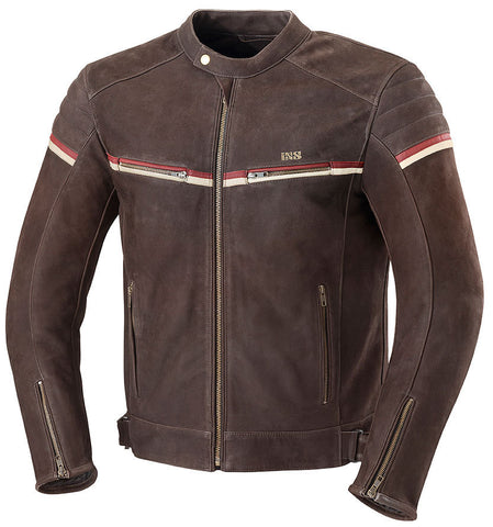 IXS FLAGSTAFF BROWN JACKET
