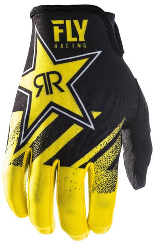 FLY LITE ROCKSTAR YELLOW/BLACK GLOVE