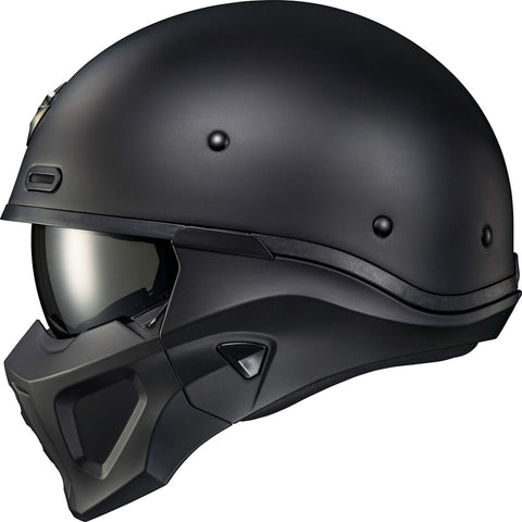 SCORPION EXO COVERT X OPEN-FACE HELMET MATTE BLACK