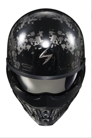 SCORPION EXO COVERT X OPEN FACE HELMET DIGICAMO