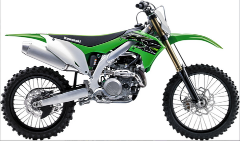 NEW-RAY 1:12 SCALE KAWASAKI KX450 2019
