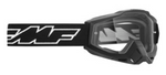 FMF PowerBomb OTG Goggle Rocket Black with Clear Lens