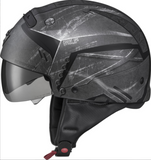 SCORPION EXO COVERT OPEN-FACE HELMET INCURSION BLACK