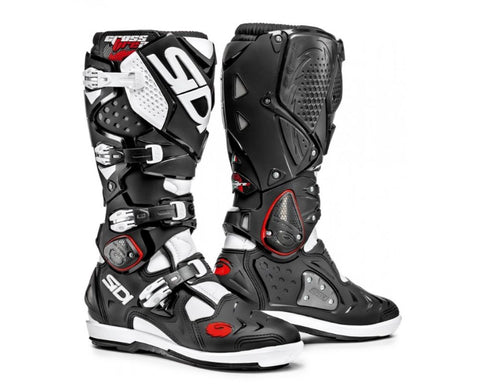 SIDI STIVALI CROSSFIRE 2 SRS BLACK/WHITE BOOT