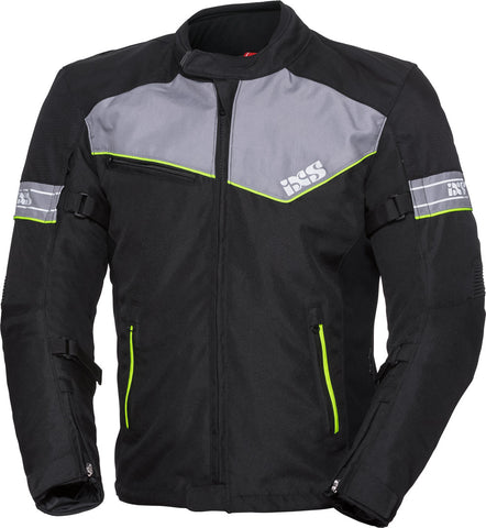 IXS SPORT 5/8 ST BLACK/GREY/YELLOW JACKET
