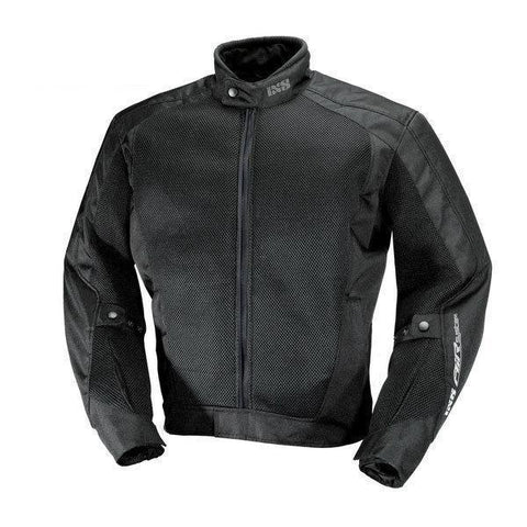 IXS AIRMESH EVO 2 BLACK JACKET