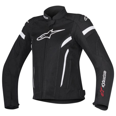 ALPINESTARS STELLA WOMAN T-GP PLUS R V2 AIR BLACK/WHITE JACKET