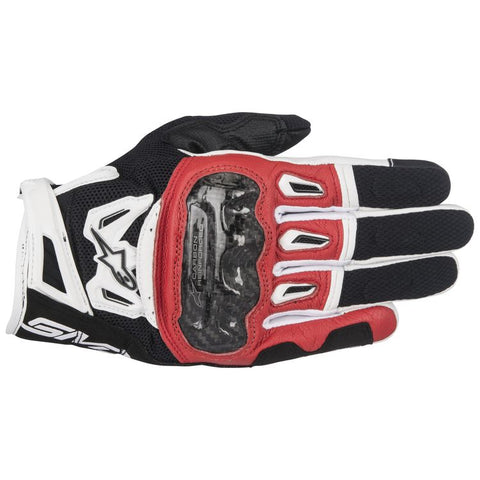 ALPINESTARS SMX-2 AIR CARBON V2 BLACK/RED/WHITE GLOVE