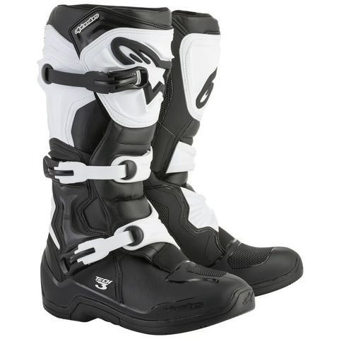 ALPINESTARS TECH 3 BLACK/WHITE BOOT