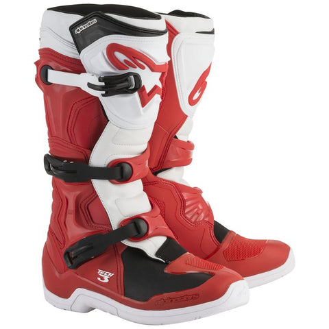 ALPINESTARS TECH 3 RED/WHITE BOOT