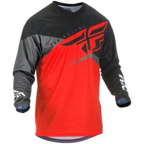 FLY F-16 RED/BLACK/GREY JERSEY