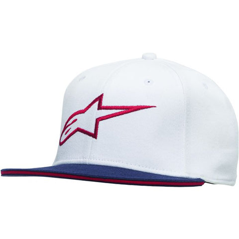 ALPINE STAR ANGLESS HAT WHITE