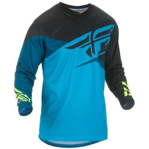 FLY F-16 BLUE/BLACK/HI-VIS JERSEY