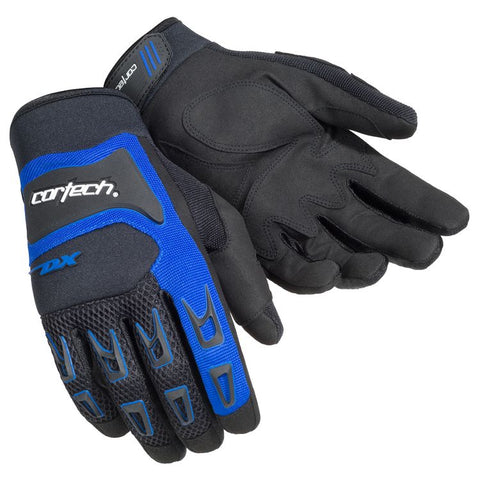 CORTECH DX 3 BLACK/BLUE GLOVE