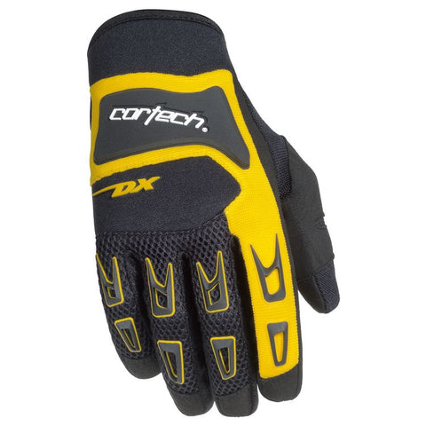 CORTECH DX 3 BLACK/YELLOW GLOVE