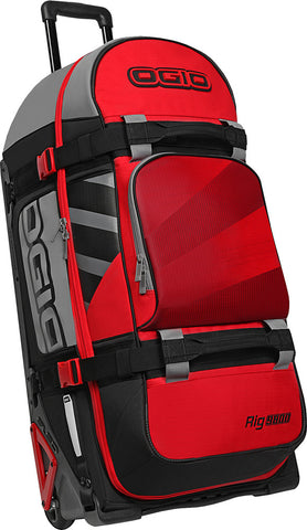 Ogio Rig 9800 Red Hub Wheeled