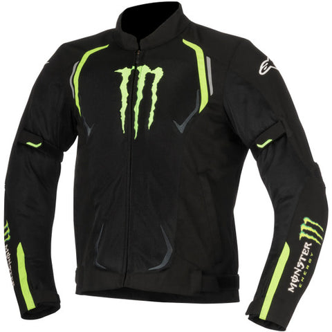 ALPINESTARS JUNO AIR MONSTER BLACK/GREEN JACKET