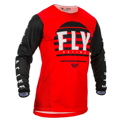 FLY KINETIC K220 RED/BLACK/WHITE JERSEY