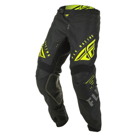 FLY KINETIC K220 BLACK/GREY/HI-VIS [32] PANT