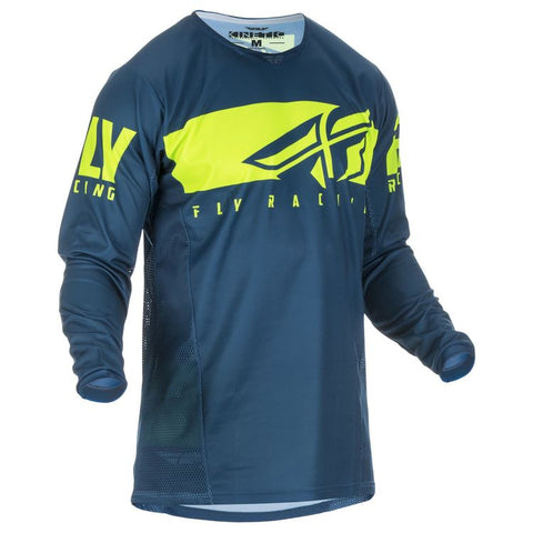 FLY KINETIC SHIELD NAVY/HI-VISON JERSEY