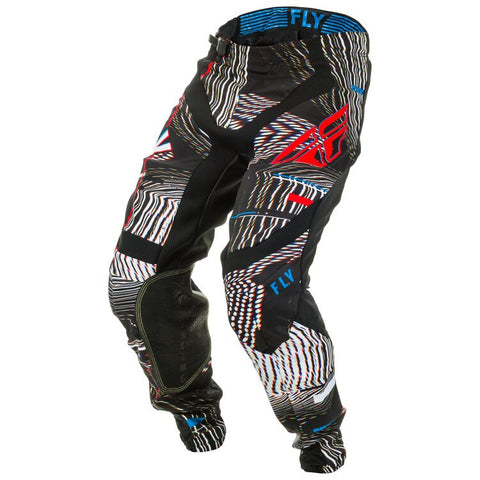 FLY LITE GLITCH BLACK/RED/BLUE PANT