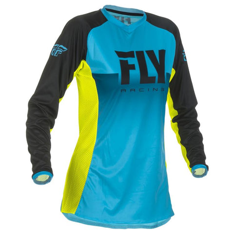 FLY LITE WOMAN'S BLUE/HI-VISION JERSEY