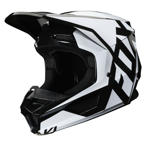 FOX V1 PRIX BLACK HELMET