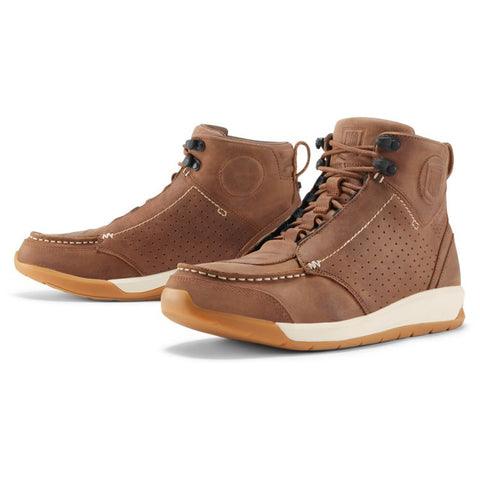 ICON TRUANT 2 BROWN BOOT