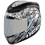 ICON AIRMADA MECHANICA SILVER HELMET